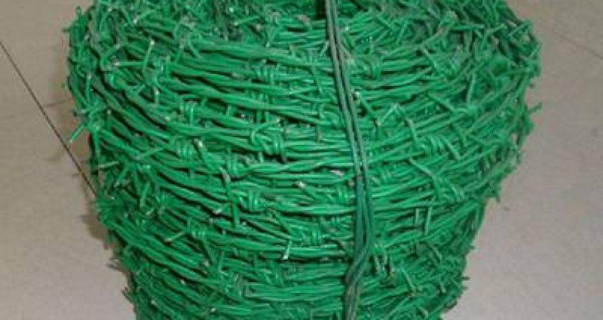 تولید فنس با روکش PVC